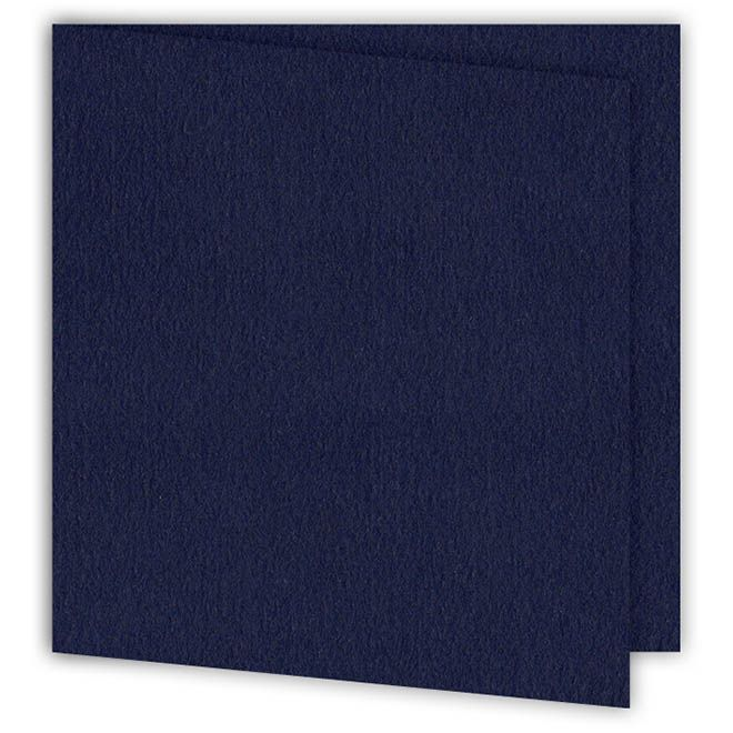 Set de cartes 15x15 'Bleu' (6p)