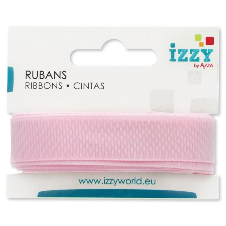 ruban grosgrain 15mm x 3m rose pale